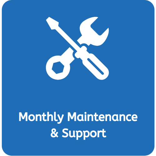Monthly Maintenance & Support